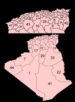 Provinsi Aljazair